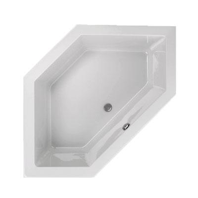Schröder Lupor E Sechseck-Badewanne, Einbau