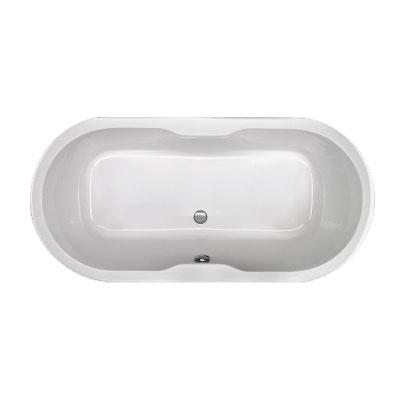 Schröder Viola Oval-Badewanne, Einbau