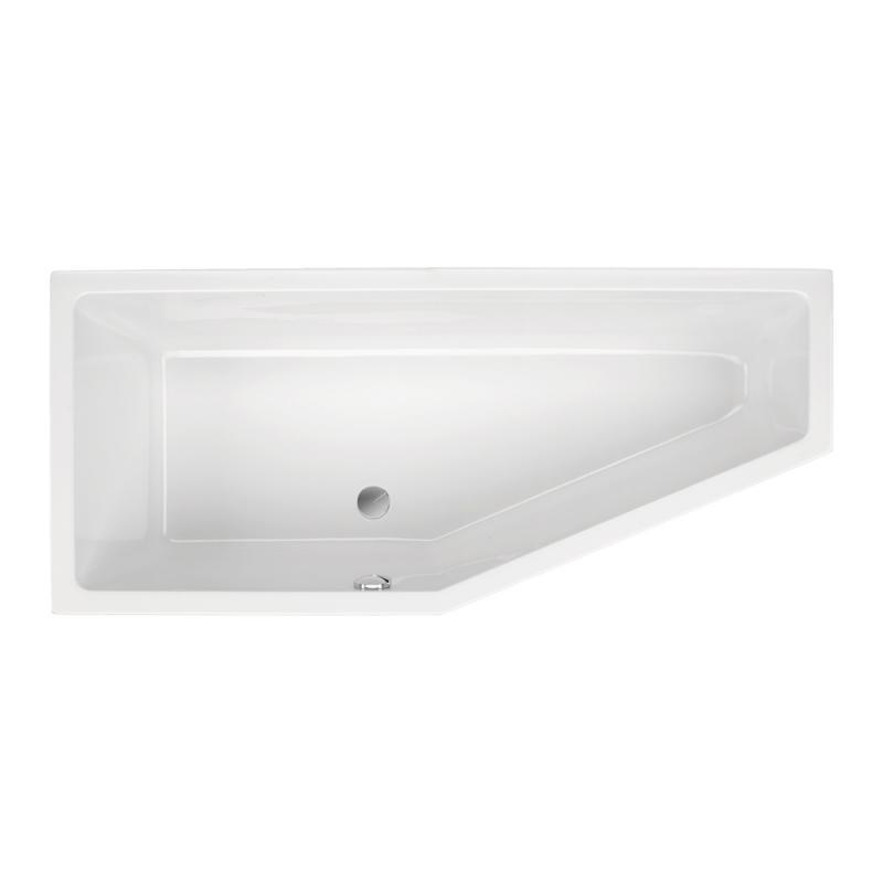 schr der lupor raumspar badewanne ausf hrung links 0020216000001 reuter. Black Bedroom Furniture Sets. Home Design Ideas