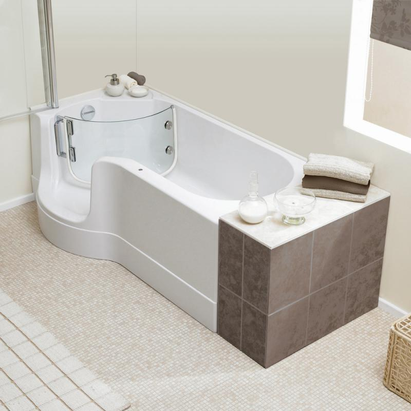 schr der pazifik badewanne mit duschzone ausf hrung links 0020243025001 reuter. Black Bedroom Furniture Sets. Home Design Ideas