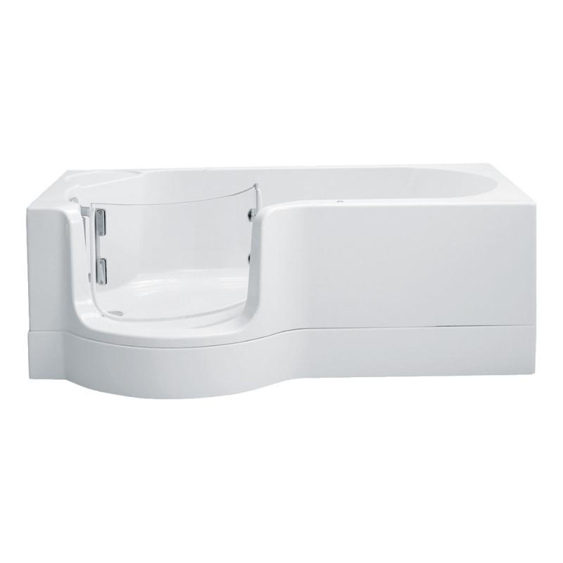 schr der pazifik badewanne mit duschzone ausf hrung links 0020243025001 reuter. Black Bedroom Furniture Sets. Home Design Ideas