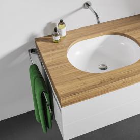 Giese Handtuchhalter für Badmöbel Gesamtlänge 400 mm