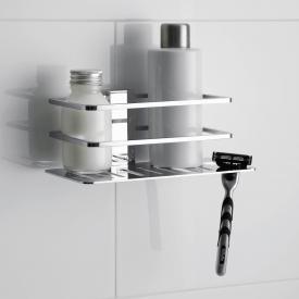 Giese Piano Duschkorb mit seitlichem Halter für Rasierer, abnehmbar