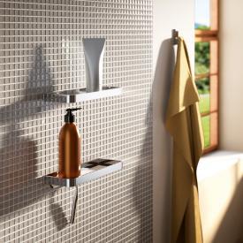 Giese Universal Duschkorb mit Glasabzieher