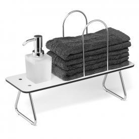 Giese Waschtischbord mit Seifenspender und Bügel für Handtücher
