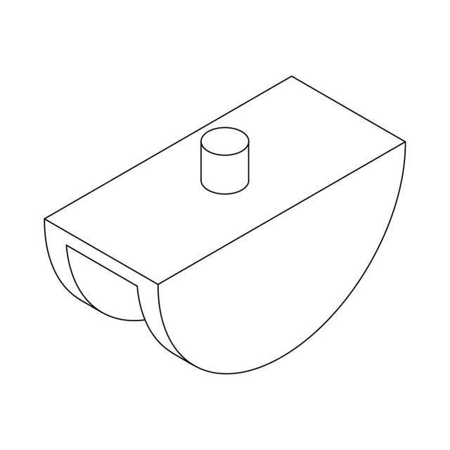 Giese Kantenschutz für Glasduschwände 8 mm, paar