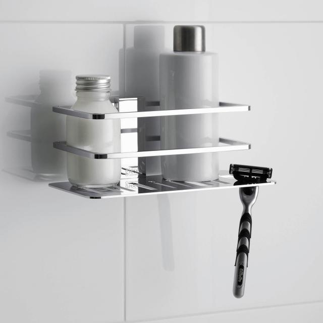 Giese Piano Duschkorb mit Aussparung für Rasierer