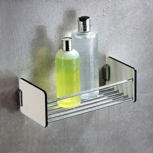 Giese Universal Duschkorb weiß/chrom