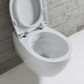 Globo 4ALL SENZABRIDA® Wand-Tiefspül-WC, spülrandlos weiß