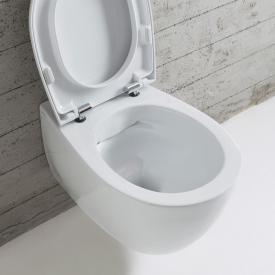Globo 4ALL SENZABRIDA® Wand-Tiefspül-WC, spülrandlos weiß matt