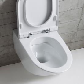 Globo FORTY3 SENZABRIDA® Wand-Tiefspül-WC, spülrandlos weiß
