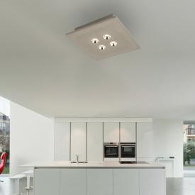 Globo Lighting Timo LED Spot/Deckenleuchte, 4-flammig, quadratisch