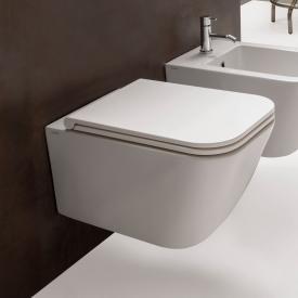Globo STONE Wand-Tiefspül-WC, Ausführung kurz weiß, mit CERASLIDE® und BATAFORM®