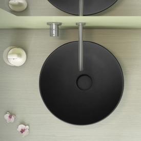 Globo T-EDGE Aufsatzwaschtisch schwarz matt