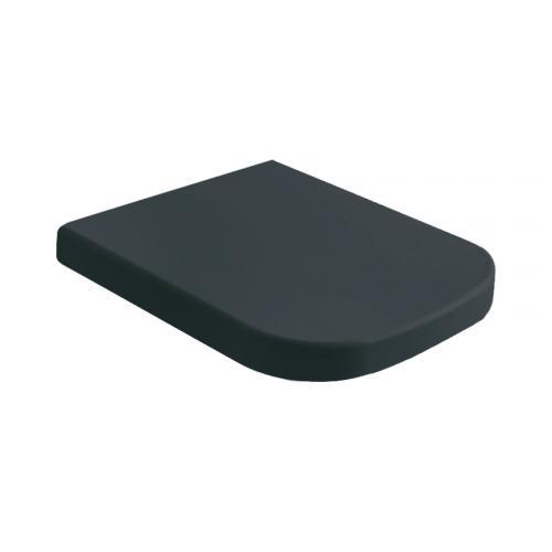 globo stone classic wc sitz schwarz matt ohne absenkautomatik soft close ss023ar reuter. Black Bedroom Furniture Sets. Home Design Ideas
