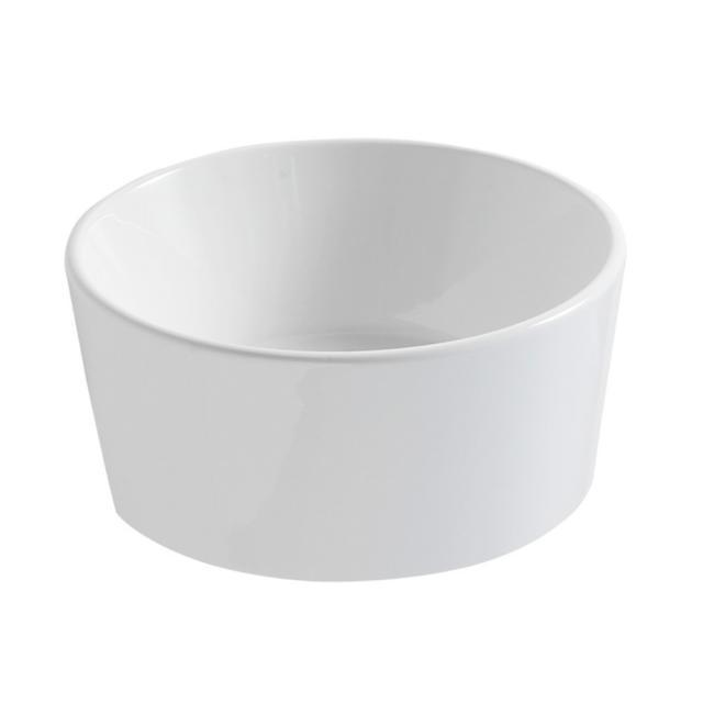 Globo FORTY3 Aufsatzwaschtisch Ø 35 cm weiß