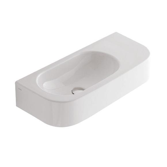 Globo FORTY3 Waschtisch ohne Hahnloch