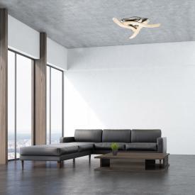 Globo Lighting Nabro LED Deckenleuchte, 3-flammig