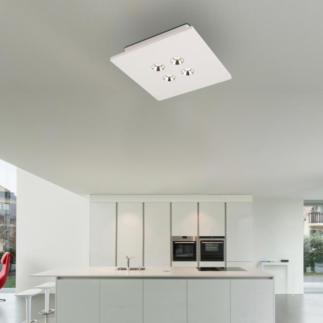 Globo Lighting Christine LED Spot/Deckenleuchte, 4-flammig, quadratisch