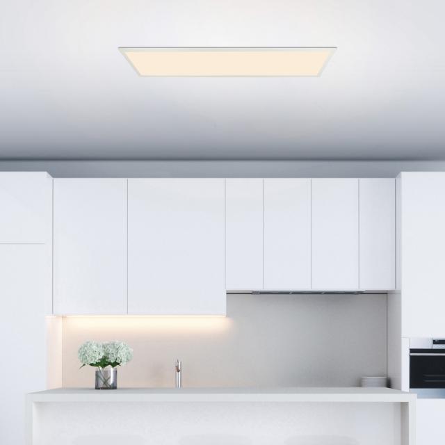 Globo Lighting Rosi LED Deckenleuchte mit Dimmer und CCT, rechteckig