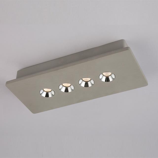 Globo Lighting Timo LED Spot/Deckenleuchte, 4-flammig, länglich