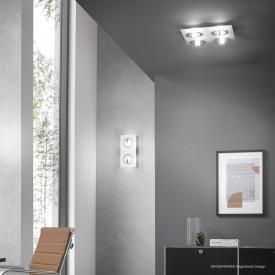 GROSSMANN Q LED Decken-/Wandleuchte, 4-flammig, quadratisch