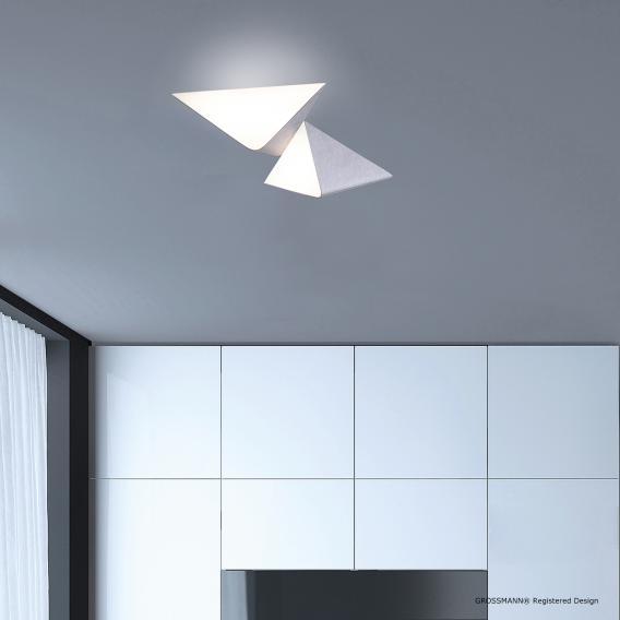 GROSSMANN Delta LED Deckenleuchte 2-flammig