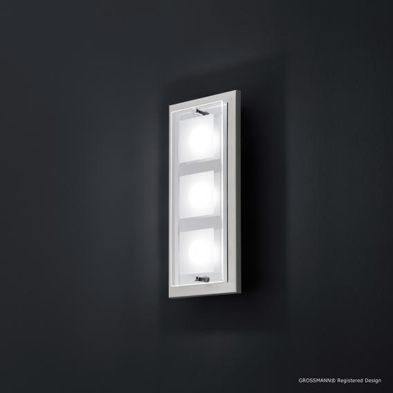 GROSSMANN Domino LED Wandleuchte mit Ein-/Aussschalter 3-flammig