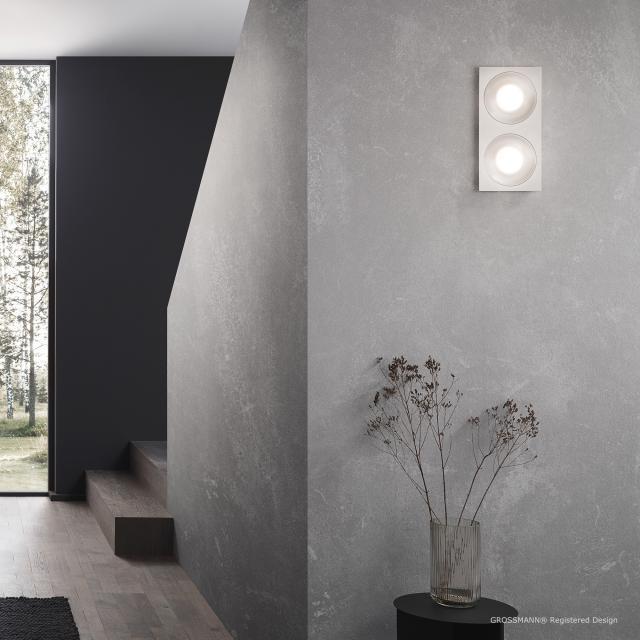 GROSSMANN Coax LED Decken-/Wandleuchte, 2-flammig