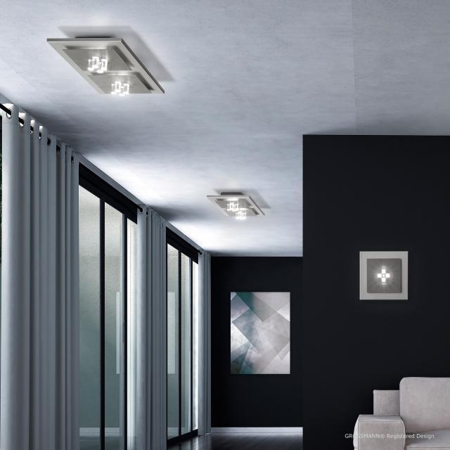 GROSSMANN Four LED Decken-/Wandleuchte, 2-flammig