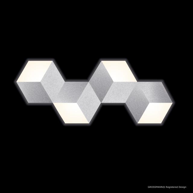 GROSSMANN Geo LED Decken-/Wandleuchte, 4-flammig