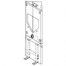 Grumbach Eck-Urinal-Visit-Stein, H: 108 cm