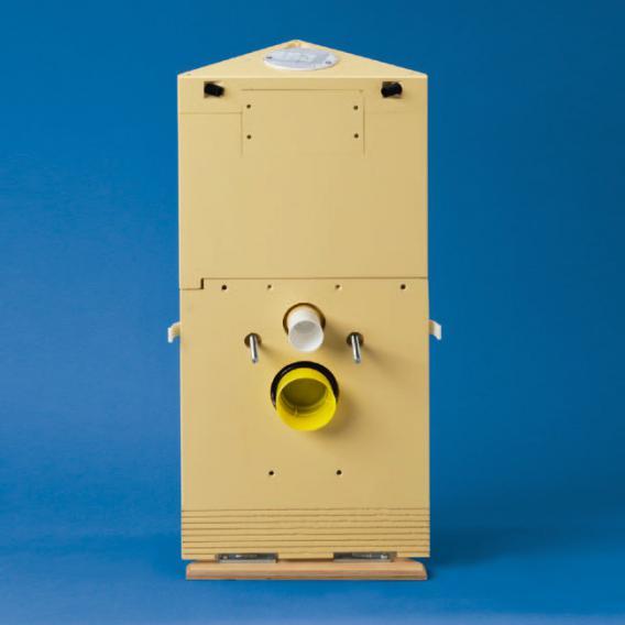 Grumbach Eck-WC-Stein H: 83 cm für Betätigungstaste Classic 150, Betätigung von oben
