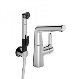 Hansa Designo Style Waschtisch-Elektronik-Einhand-Einlochbatterie mit Funktionsbrause, ohne Ablaufgarnitur