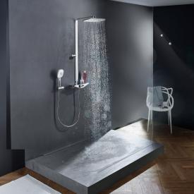 Hansa Emotion Brause-Thermostat Duschsystem für Wandmontage, mit Wellfit Körperbehandlung weiß
