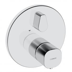 Hansa Living UP-Thermostat-Batterie, mit Umstellung, rund, für Bluebox