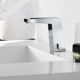 Hansa Loft Waschtisch-Elektronik-Batterie, Batteriebetrieb mit Push-Open-Ablaufgarnitur
