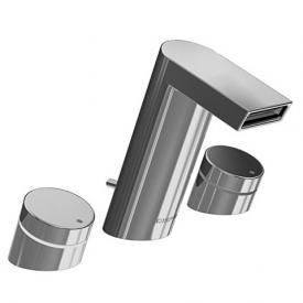 Hansa Stela Waschtisch-Dreilochbatterie mit Ablaufgarnitur