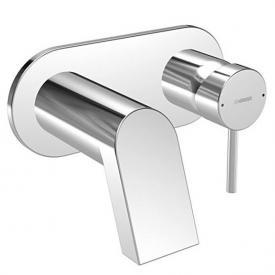 Hansa Stela Waschtisch-Einhand-Wandbatterie für Wandeinbau Ausladung: 242 mm