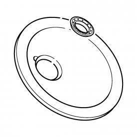 Hansa Wasserschale für Murano Waschtisch-Einhand-Einlochbatterie