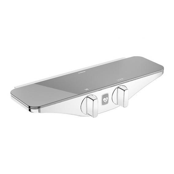 Hansa Emotion Brause-Thermostat-Batterie, mit Wellfit Körperbehandlung grau