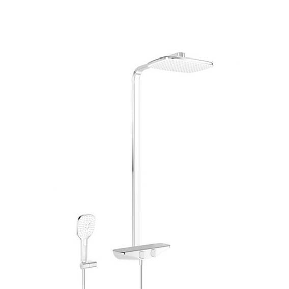 Hansa Emotion Brause-Thermostat Duschsystem für Wandmontage grau