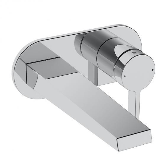 Hansa Loft Waschtisch-Einhand-Wandbatterie für Wandeinbau Ausladung: 193 mm
