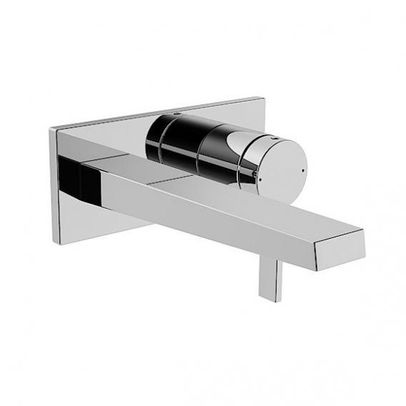 Hansa Loft Waschtisch-Einhand-Wandbatterie für Wandeinbau Ausladung: 197 mm