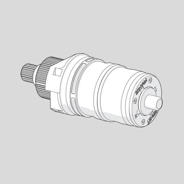 Hansa 3.3 Thermostat Regelteil ohne Mengenregulierung