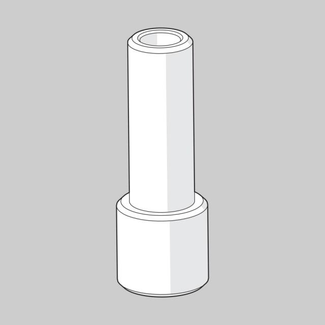 Hansa Anschlussnippel für Designo Waschtisch-Einhand-Wandbatterie Wandeinbau