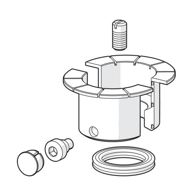 Hansa Designo Dichtungssatz für Waschtisch-Einhand-Einlochbatterie