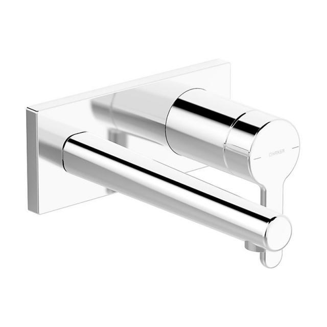 Hansa Designo Style Waschtisch-Einhand-Wandbatterie für Wandeinbau Ausladung: 194 mm