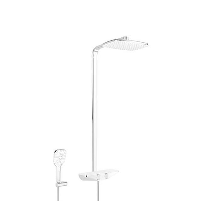 Hansa Emotion Brause-Thermostat Duschsystem für Wandmontage weiß