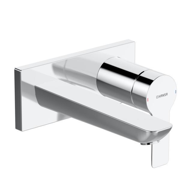 Hansa Ligna Waschtisch-Einhand-Wandbatterie